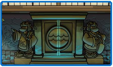 puerta dojo de agua