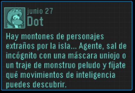 Mensaje Dot